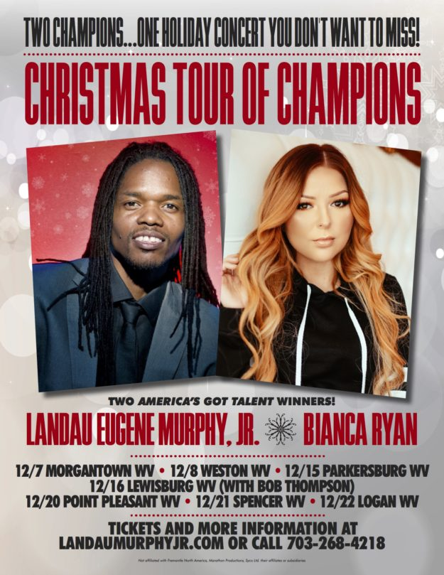 The wait is over!! Landau's Christmas Tour of Champions is here